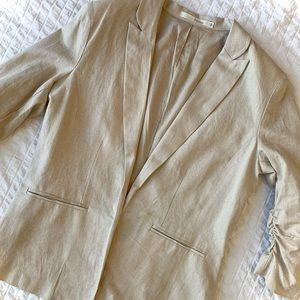 HAVE Linen-Blend Blazer